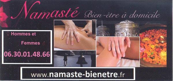 massage bien etre à domicile seins nue de