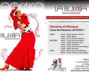 La buleria - vanessa domiati - cours de flamenco