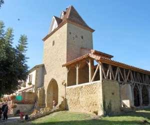Un village medieval en gascogne