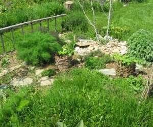 Courtil de rocfeuilh,jardin medieval