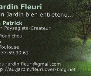 Entreprise au jardin fleuri   -  jardinier paysagiste