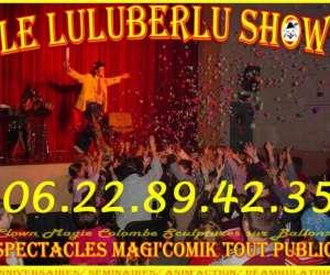 Clown  luluberlu -  anniversaire enfant - spectacle à d