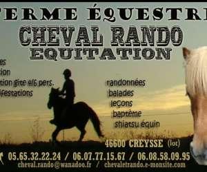 Cheval rando équitation