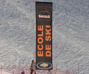 Ecole de ski esprit montagne