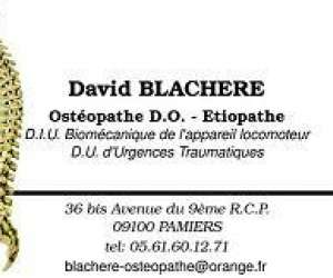 David   blachere  osteopathe