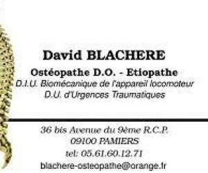 David   blachere  osteopathe