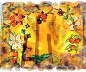 Marie-jo garric -  peintre de lumière- jom peintre sur