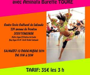 Cours et stage danse africaine sabar senegal