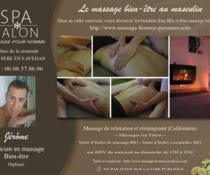 Massage homme pyrénées
