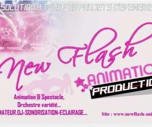 New flash animation production