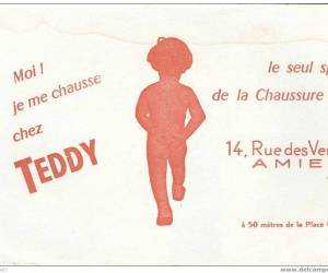 Chaussures teddy