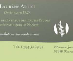 laurene artru  -  osteopathe d.o.