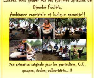 Djembés  fouléla  -  atelier percussions africaines