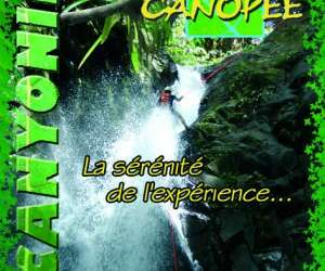 Canopée canyoning