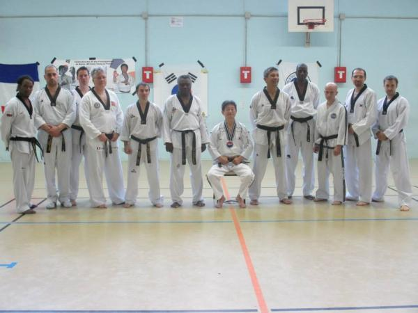 club taekwondo saint denis