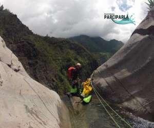 Canyoning avec parciparla canyoning
