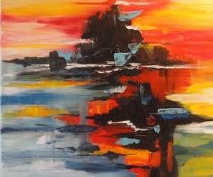 Liliane carbonnaux  artiste peintre