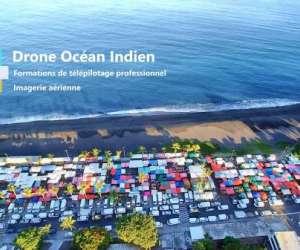 Drone océan indien