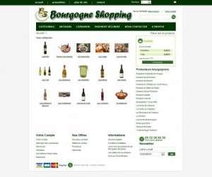 Bourgogne shopping