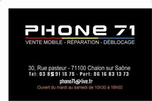 Phone 71 A Chalon Sur Saone 71100
