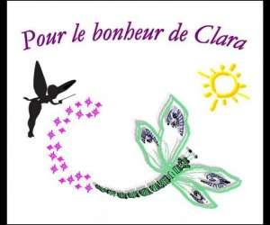 """Association """"pour le bonheur de clara"""""""