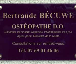 Bertrande becuwe osteopathe d.o.
