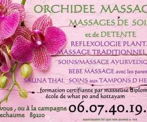 Orchidée massage