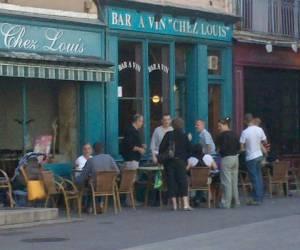 Bar à vins chez louis