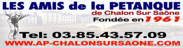 Amis de la p tanque chalon sur saone 71100 t l phone for Horaire piscine chalon sur saone