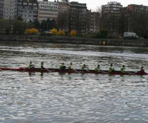 Alma rowing race