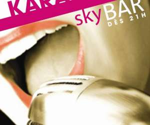 Karaoke au skybar à liège