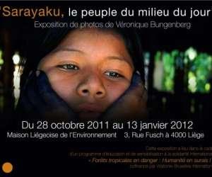 Exposition-photo: sarayaku, le peuple du milieu du jour