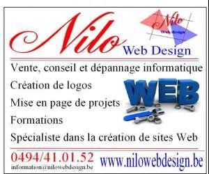 Nilo web design
