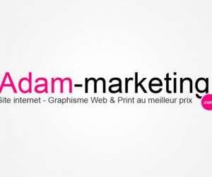Adam-marketing - creation site web