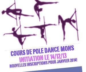 Cours de pole dance mons