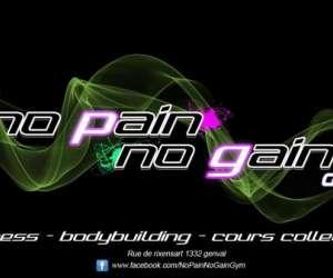 No pain no gain gym