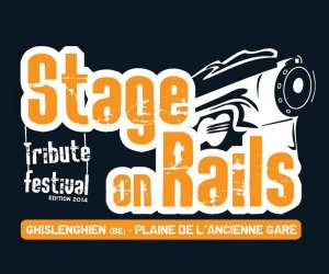 Stage on rails tribute festival