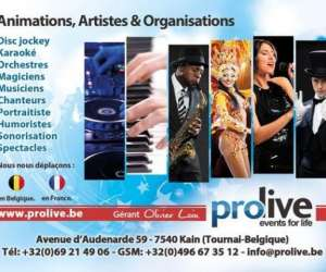 Prolive evenement