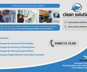 Clean solution