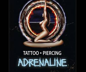Adrenaline tattoo