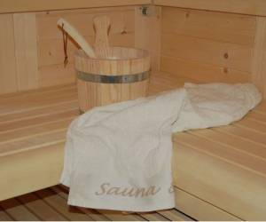 Bronza zon en saunacenter