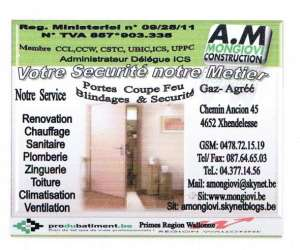 A.m.mongiovi construction