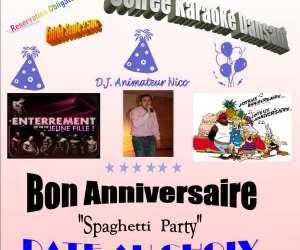 Karaoke - salle de fete - soiree dansante - cours de da