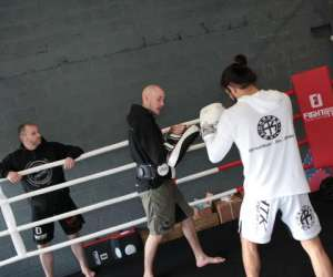 Fight off training center