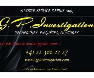 Detective prive g.p,investigation