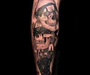 Art for sinners (tattoo)