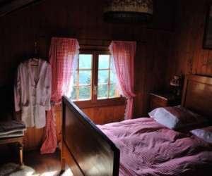 chalet roten -  chambre d