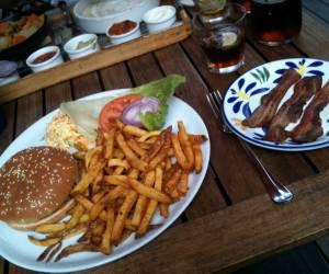 American bar & restaurant
