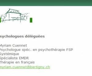 Myriam cuennet, psychothérapie déléguée