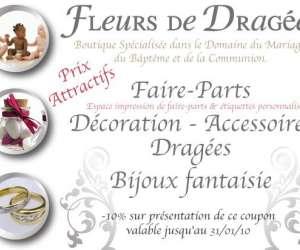 Boutique fleurs de dragees